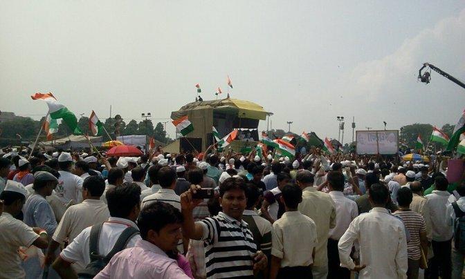 Indisk kamp mot korruptionen med fasta