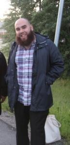 Kajs Atallah vid Lidingö folkhögskola på internationell konferens för fredsagenter