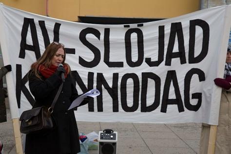 Tania Groth. Foto: Roger Sahlström