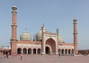 Moskén Jama Masjid i New Delhi som jag såg först 1984. 1987 intervjuade jag imamen för tidningen Broderskap. 2010 flyttade jag till New Delhi.