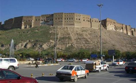 Arbil med citadell